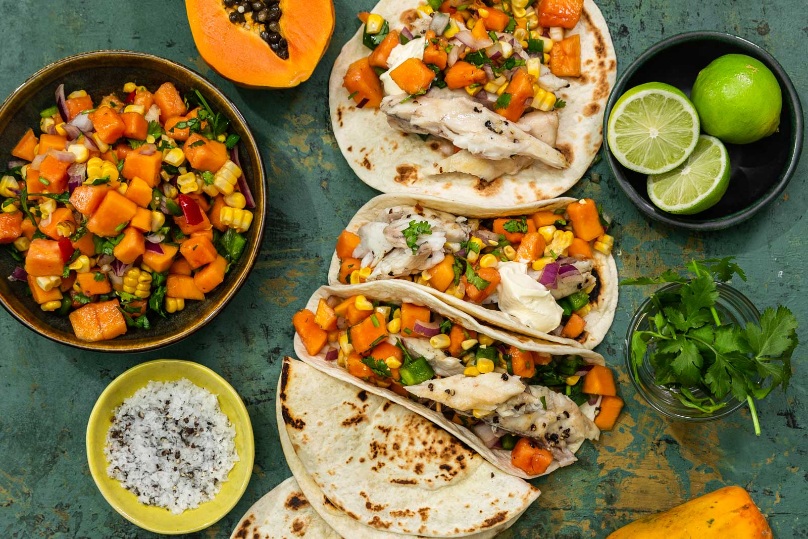 Papaya Tacos