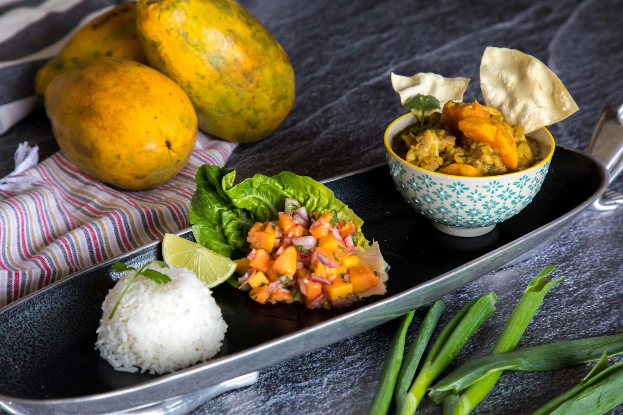 Chicken and Papaya Curry