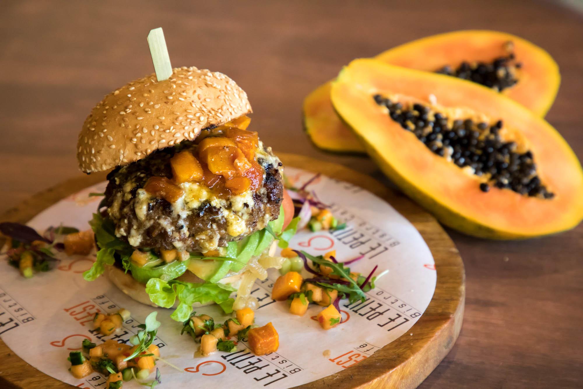 Papaya Burger
